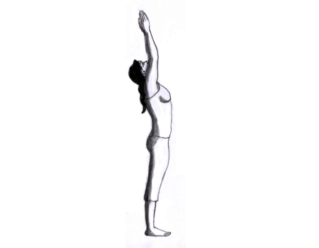uttanasana yoga haltung